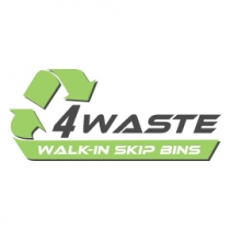 4 Waste Walk-In Skip Bins